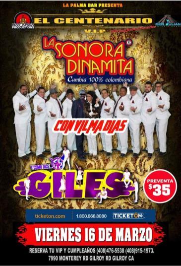 LA SONORA DINAMITA Y GILES: Main Image