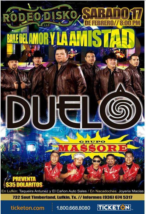 Duelo Lufkin Tickets Boletos Rodeo Disko Ticketon