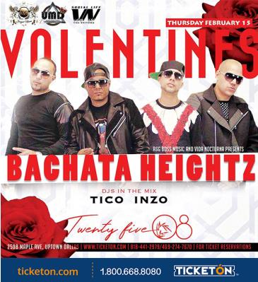 BACHATA HEIGHTZ EN DALLAS: Main Image