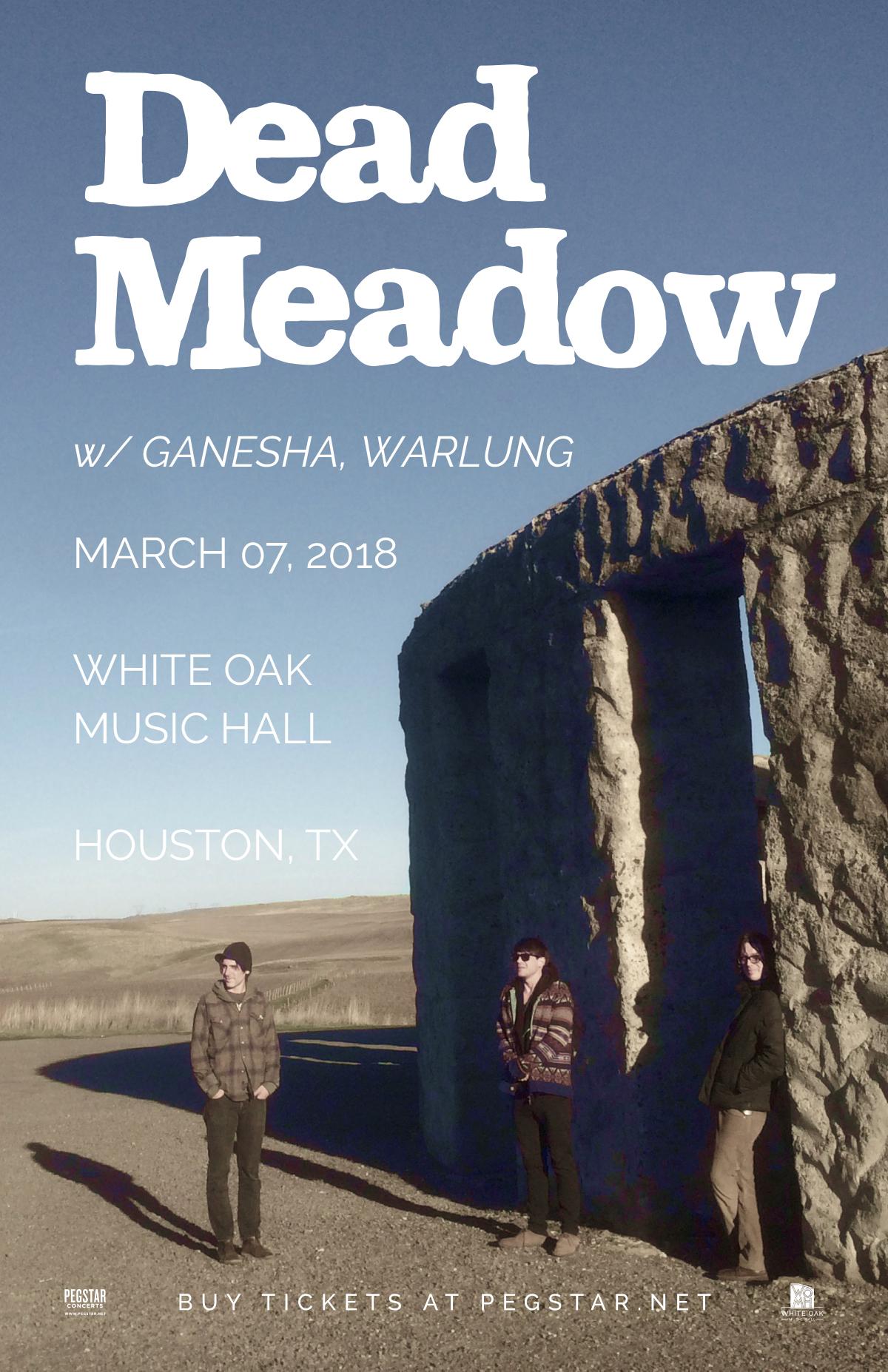 Dead Meadow, Ganesha, Warlung