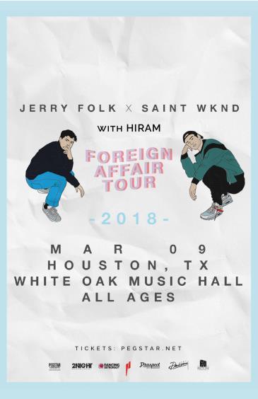 Jerry Folk & SAINT WKND, Hiram: Main Image