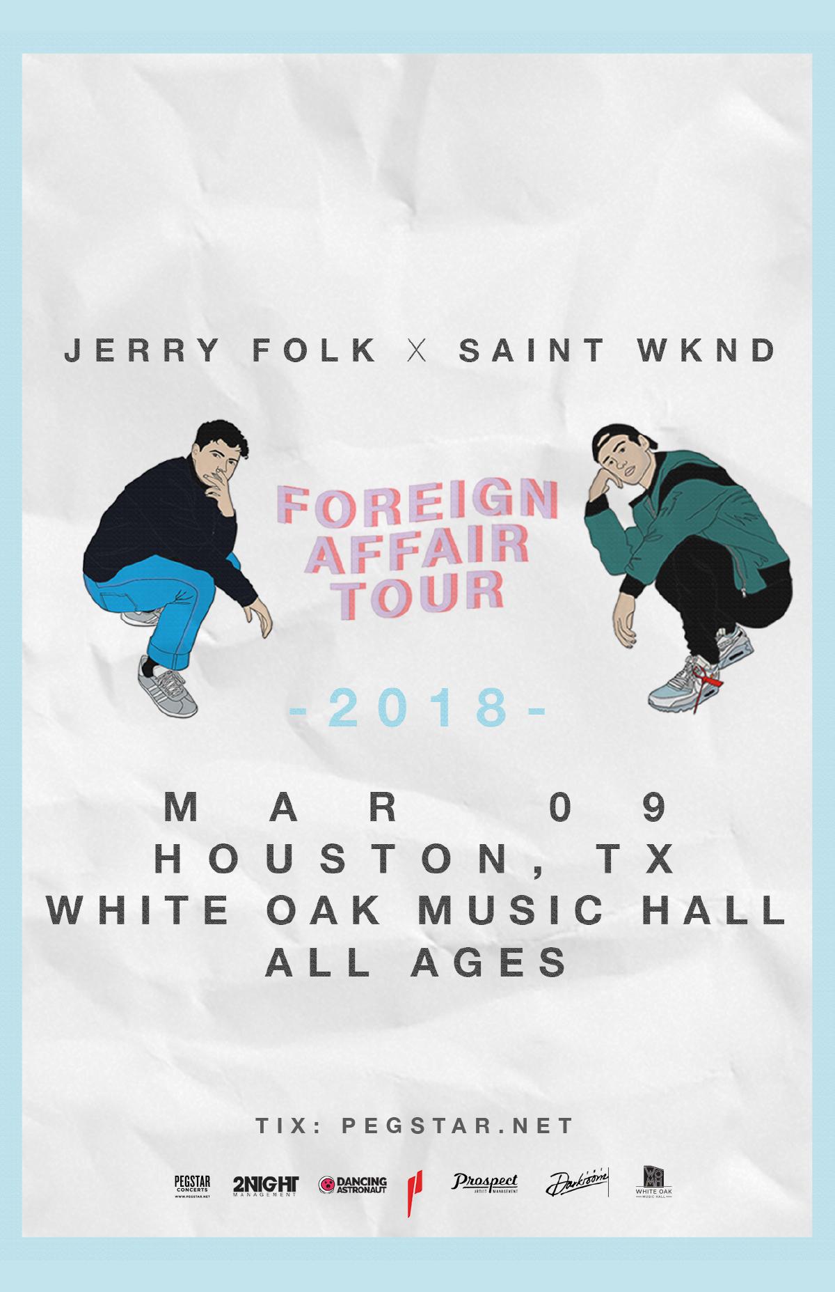 Jerry Folk & SAINT WKND