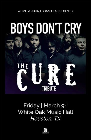 Tribute Night: Boys Don't Cry  & The Joan Hearts: Main Image
