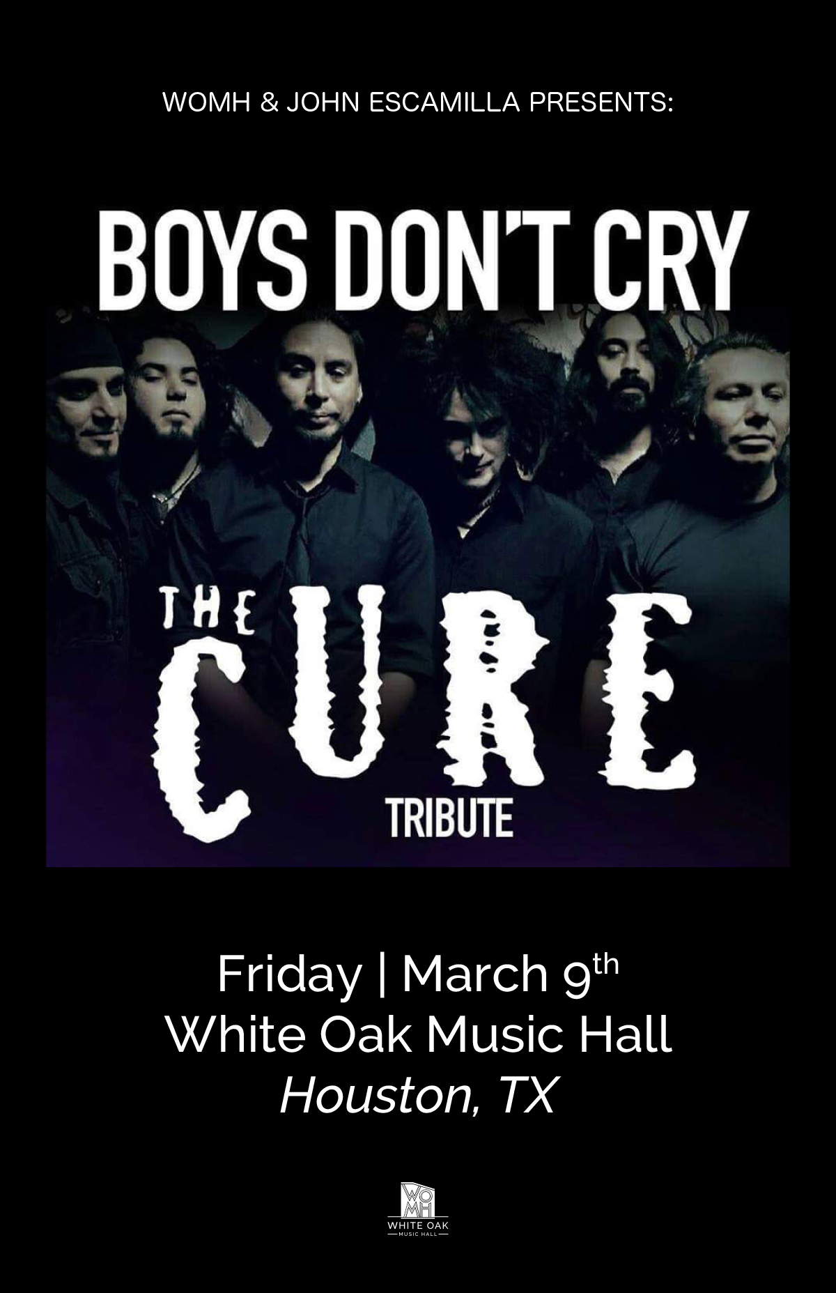 Tribute Night: Boys Don't Cry  & The Joan Hearts