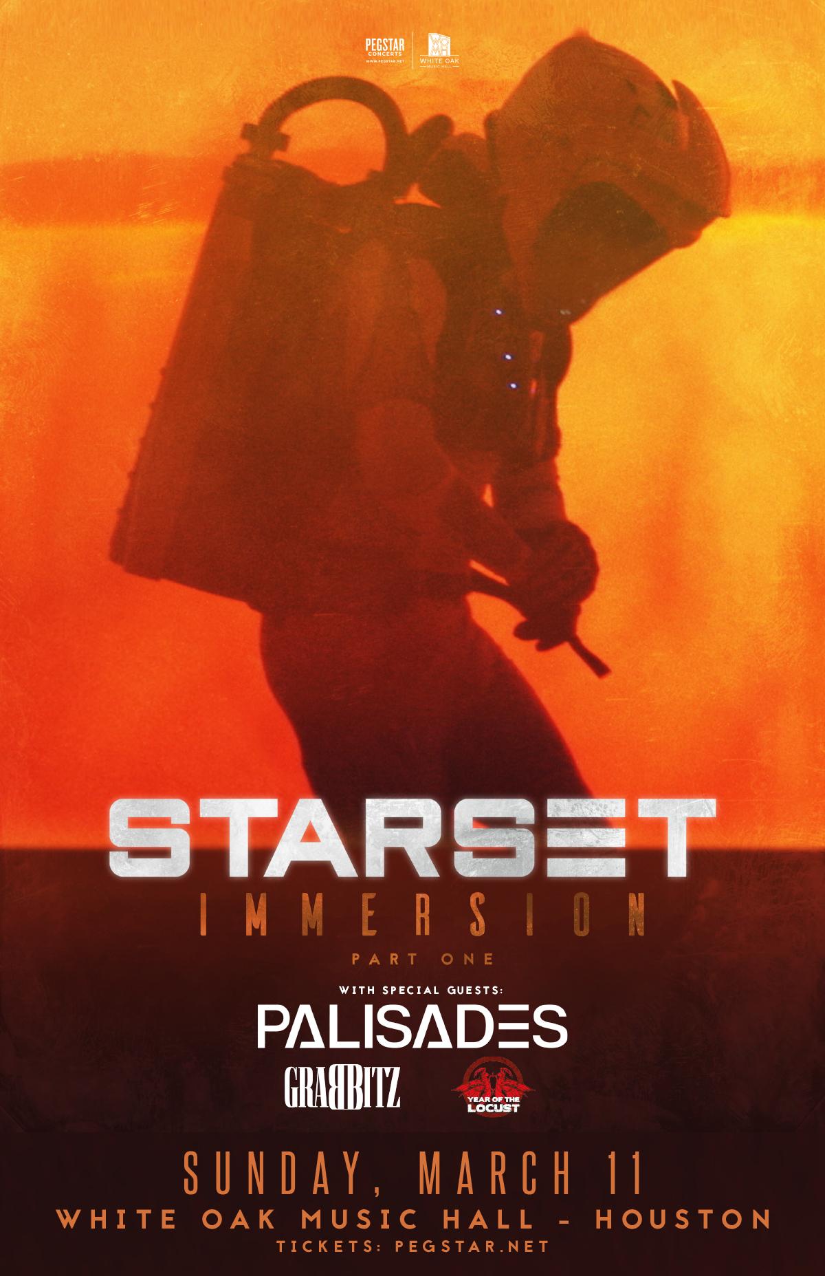 Starset - IMMERSION: Part 1, Palisades, Grabbitz