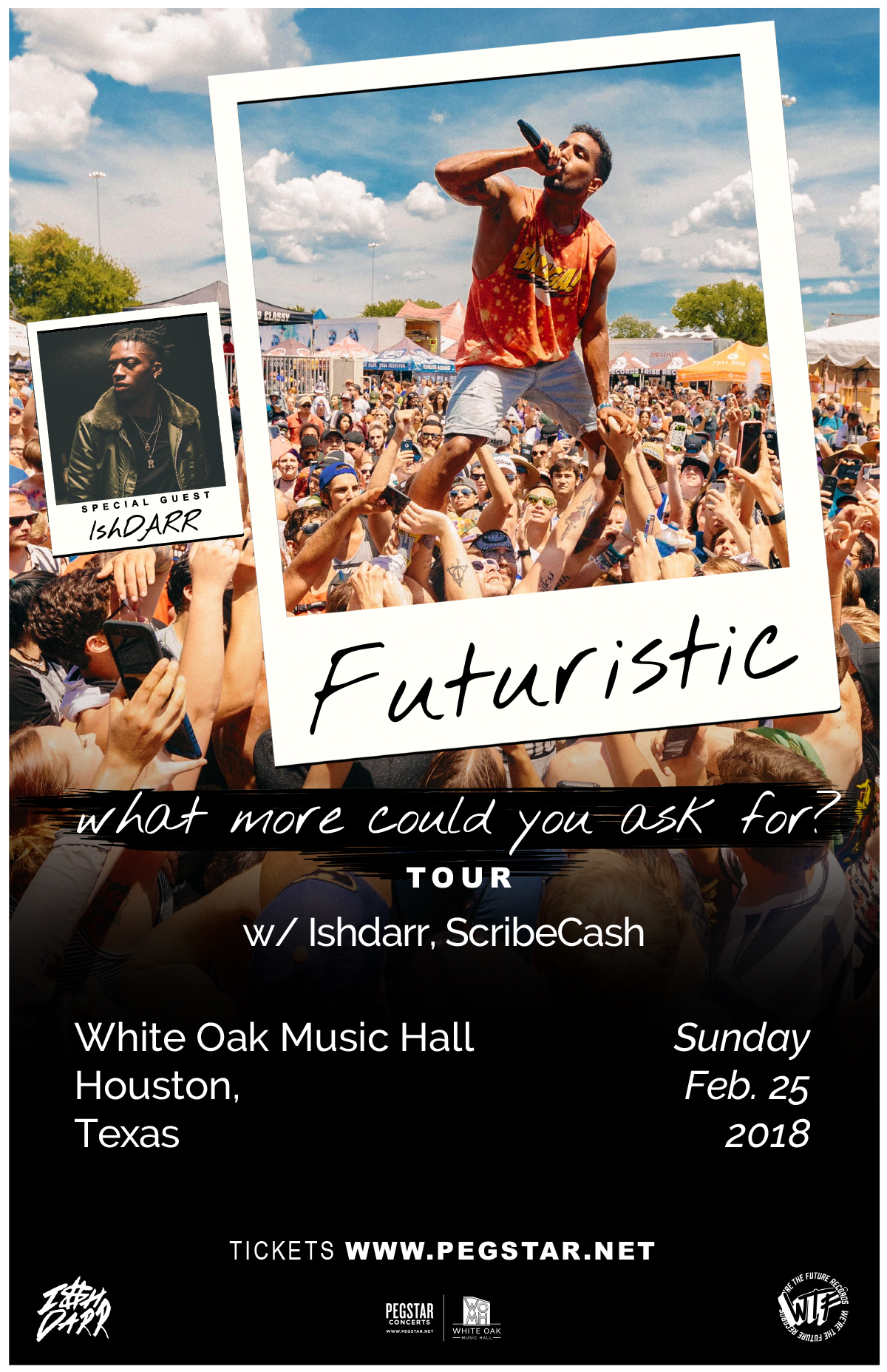 Futuristic:What More Could You Ask For?, Ishdarr, ScribeCash