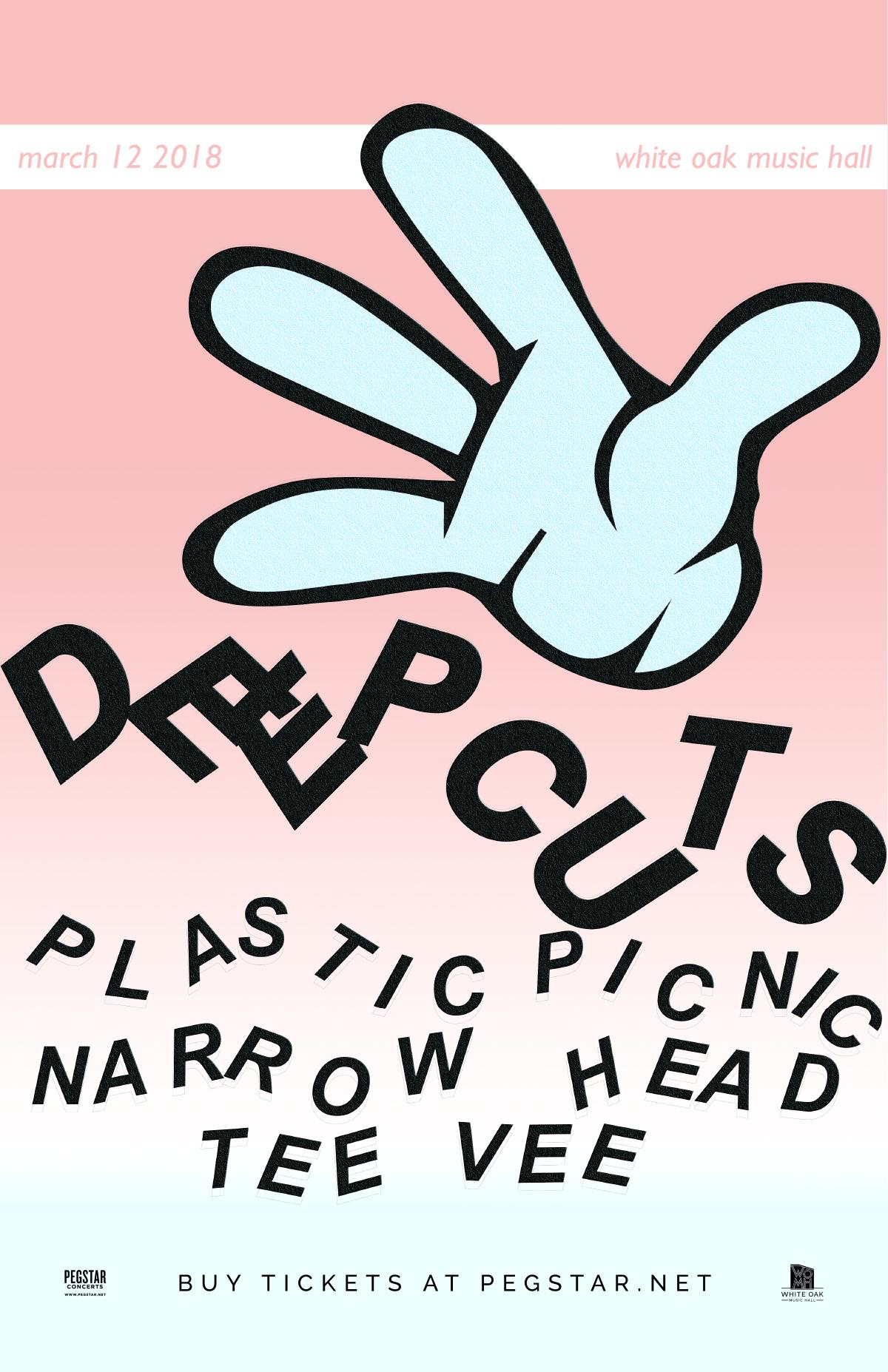 Deep Cuts, Plastic Picnic (NYC), Narrow Head, Tee Vee