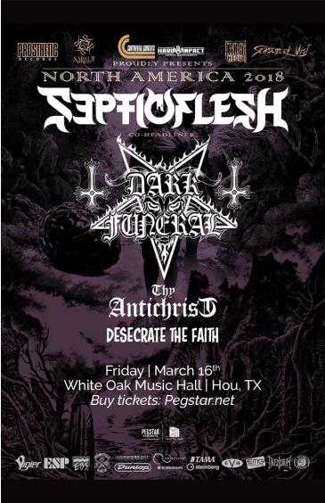 Septicflesh / Dark Funeral, Thy Antichrist: Main Image
