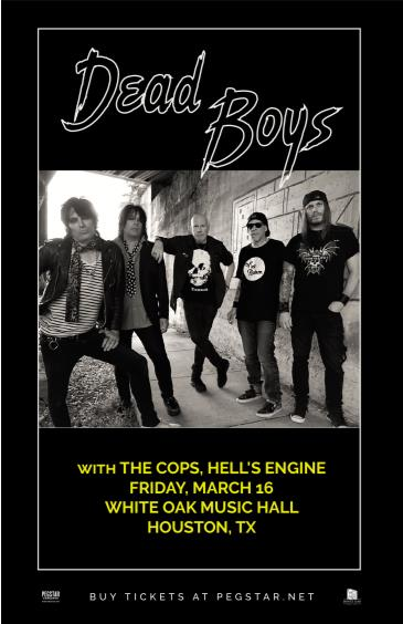 Dead Boys, The Cops, Hell's Engine: Main Image