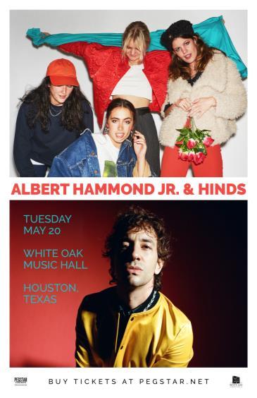 Albert Hammond Jr & Hinds: Main Image