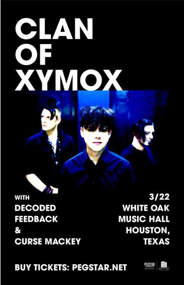 Clan Of Xymox, Decoded Feedback, Curse Mackey: Main Image