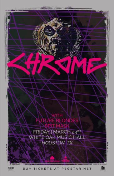 Chrome, FUTURE BLONDES, Spit Mask: Main Image