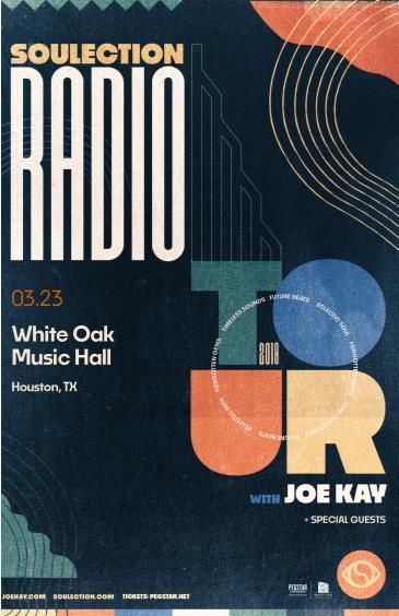 Soulection Radio Tour ft. Joe Kay + special guests: Main Image