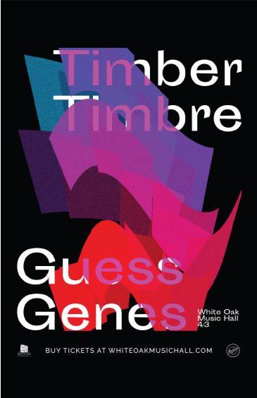 Timber Timbre, Guess Genes: Main Image