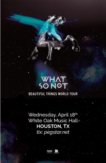 What So Not - Beautiful Things Tour: Main Image