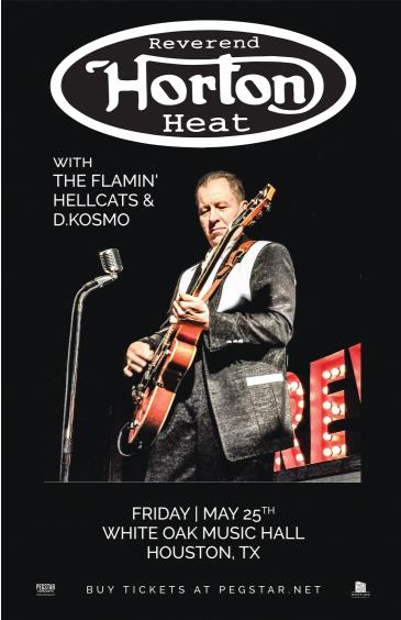 Reverend Horton Heat, The Flamin' Hellcats, D.Kosmo: Main Image