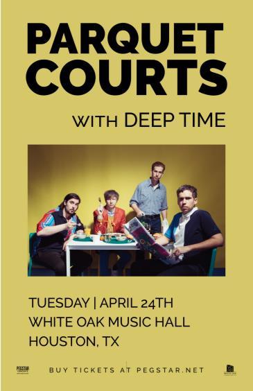 Parquet Courts, Deep Time: Main Image