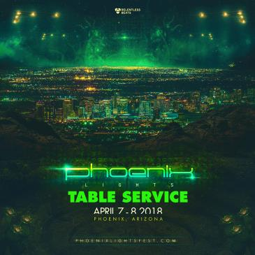 Phoenix Lights 2018 - TABLES: Main Image