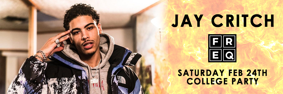 Jay Critch live at Freq NYC Party Tickets | GametightNY.com