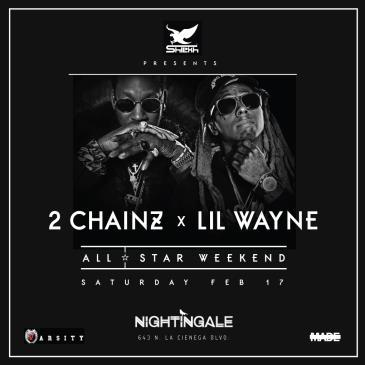 Lil Wayne + 2 Chainz NBA All Star Event-img