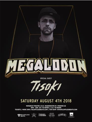 Megalodon + Tisoki - RESCHEDULED: Main Image