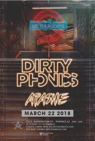Dirtyphonics + Apashe: Main Image