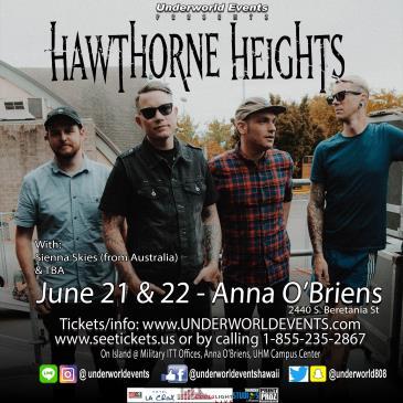 Hawthorne Heights 2 Show Pass-img