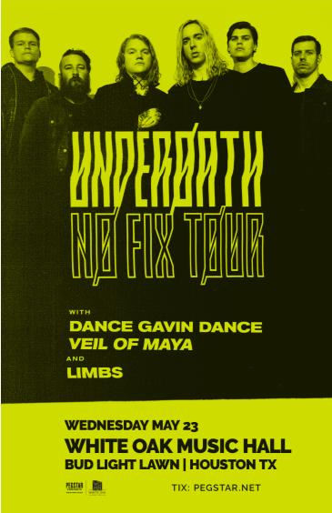 Underoath: No Fix Tour: Main Image