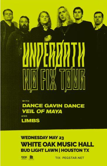 Underoath: No Fix Tour: Main Image