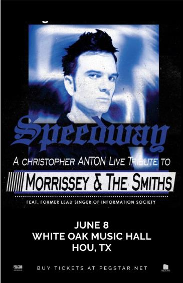 Speedway: A Tribute to Morrissey & The Smiths by Chris Anton: Main Image