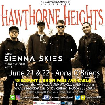 Hawthorne Heights Presented by Underworld Events-img