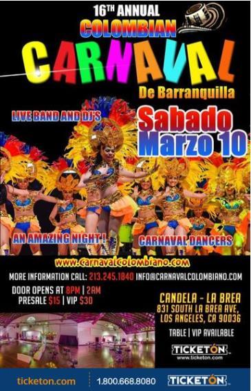 16th CARNAVAL DE BARRANQUILLA: Main Image