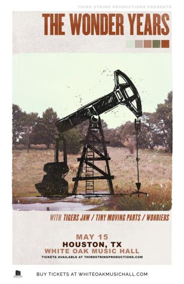 The Wonder Years, Tigers Jaw, Tiny Moving Parts, Worriers: Main Image