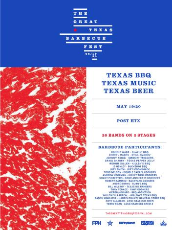 The Great Texas BBQ Festival: May 19 & 20: Main Image
