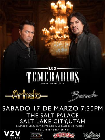 LOS TEMERARIOS EN SALT LAKE CITY: Main Image