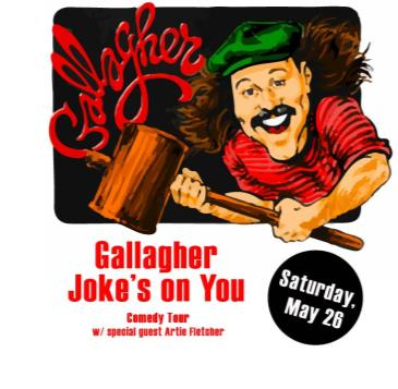 "Gallagher ""The Joke's On You"" Comedy Tour: Main Image"