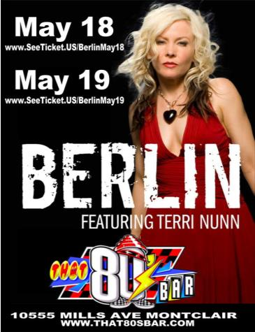 Berlin featuring Terri Nunn: Main Image