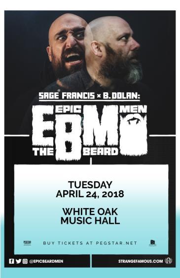 Epic Beard Men (Sage Francis & B. Dolan), Vockah Redu: Main Image