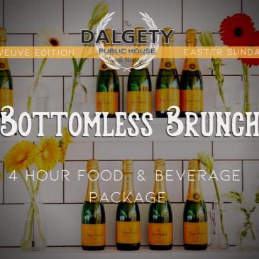 Easter Bottomless Brunch - The Veuve Clicquot Edition