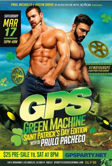 GPS: GREEN MACHINE!: Main Image