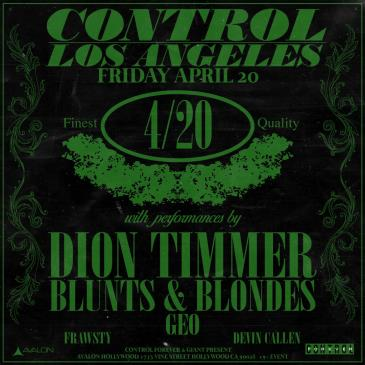 Dion Timmer, Blunts & Blondes: Main Image