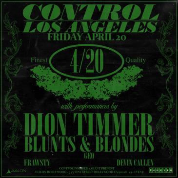 Dion Timmer, Blunts & Blondes-img