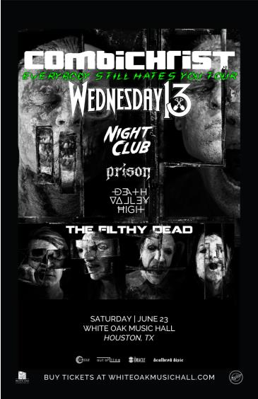 Combichrist, Wednesday 13, Night Club, Prison: Main Image
