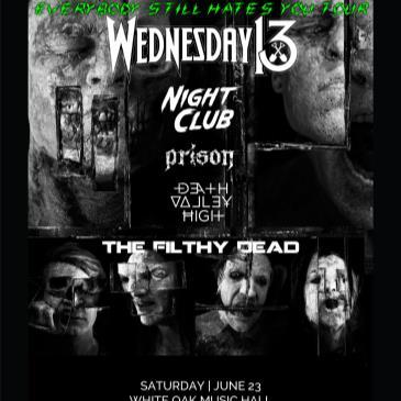 Combichrist, Wednesday 13, Night Club, Prison-img