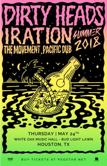 Dirty Heads, Iration, The Movement, Pacific Dub: Main Image