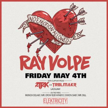 RAY VOLPE (Limited Free w/ RSVP Before 11PM): Main Image
