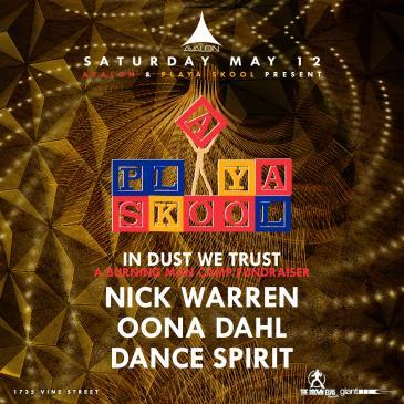 Playa Skool:  Nick Warren, Oona Dahl, Dance Sprit: Main Image