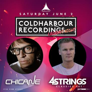 Coldharbour Legends Night: Chicane, 4 Strings (Classics): Main Image