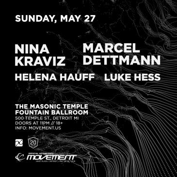 Nina Kraviz and Marcel Dettmann Official Movement Afterparty: Main Image