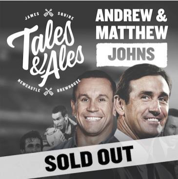 TALES & ALES - JOEY & MATTHEW JOHNS: Main Image